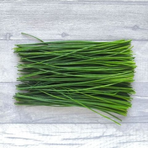 fresh bunch of chives